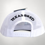 Pontus/White Center Icon Cap Texas Bred On Back