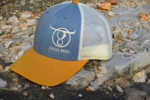 Heather Grey/Birch/Amber Gold Icon Cap