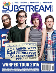 Issue 46 Warped Tour Special Edition Issue Cover 2