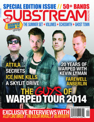 "Warped Tour Special Edition ""The Guys of Warped Tour 2014"" Issue 40"