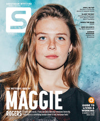 FREE issue featuring Maggie Rogers with 1 year subscription! (US ONLY)