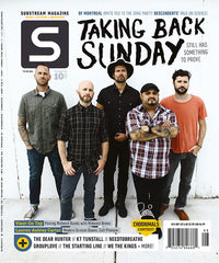 FREE issue featuring Taking Back Sunday with 1 year subscription! (US ONLY)