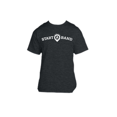Start A Band Tee - Charcoal Gray