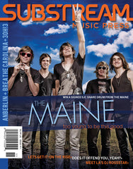 Issue 11 – The Maine / Hawthorne Heights Double cover edition!