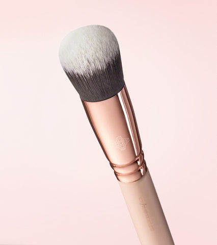 107 POWDER POLISH BRUSH (ROSE GOLDEN VOL. 2) -  - ZOEVA DE