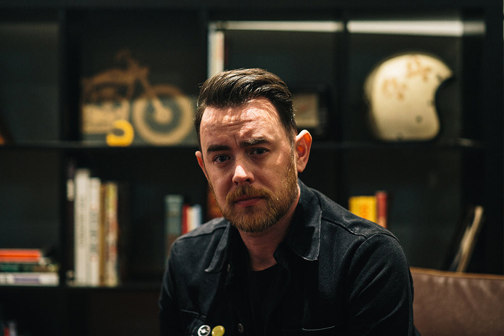 In the library with Colin Hanks