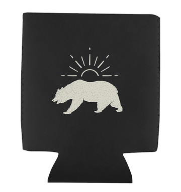 EL BEAR KOOZIE - BLACK