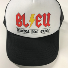 Charger l'image dans la galerie, Casquette  Bleu Metal For ever