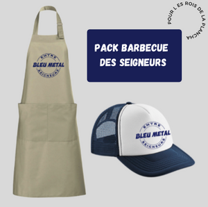 pack barbecue bleu metal chicandier