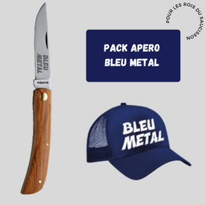 pack apero bleu metal chicandier
