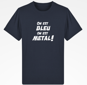 TS bleu metal chicandier