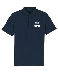 Polo Bleu Metal