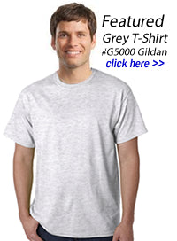 d098a1c03405 Grey T-Shirts | Wholesale Pricing on Blank Grey Tee Shirts in Bulk ...