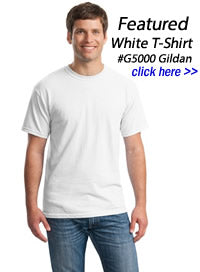 white t-shirts wholesale in bulk