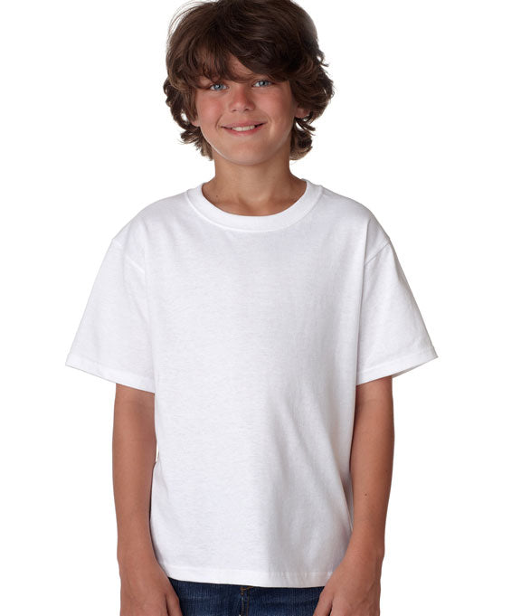 uk availability pick up well known 3930B Fruit of the Loom Youth 5 oz. 100% Heavy Cotton HD® T-Shirt