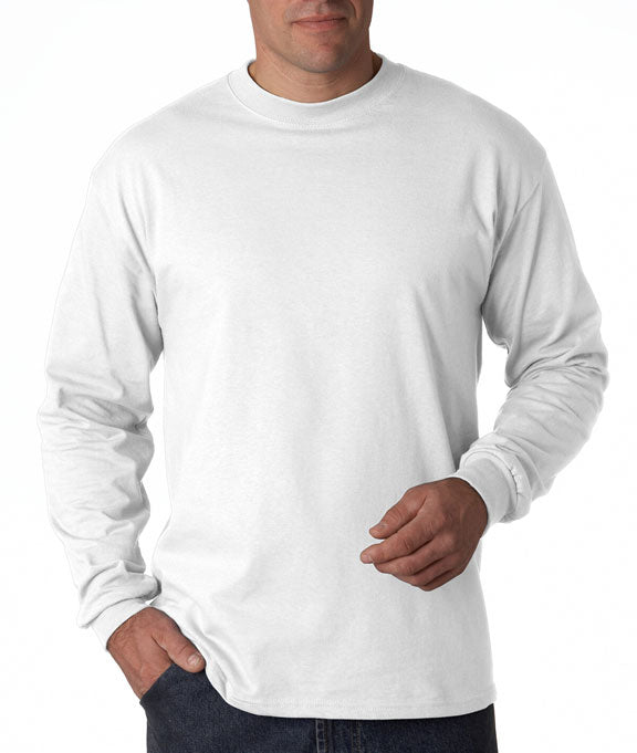 luxury fashion best place unbeatable price 5186 Hanes Adult Beefy-T® Long-Sleeve T-Shirt