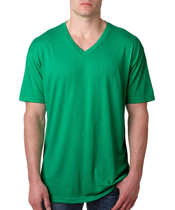 cd0df391a28d Wholesale Blank 6040 Next Level Adult Tri-Blend V-Neck T-Shirt | Buy ...