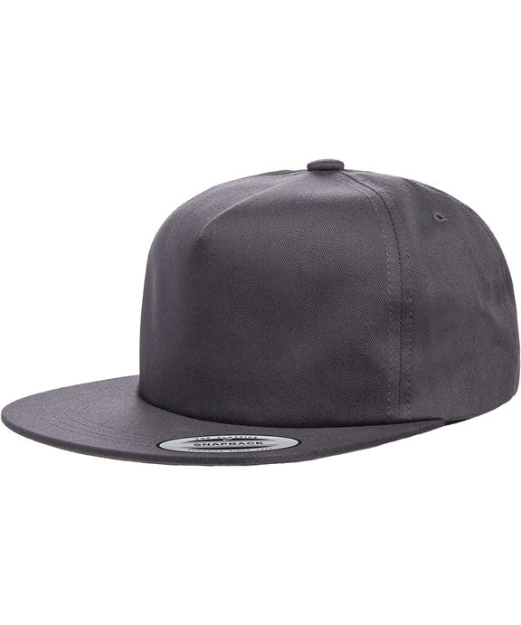 dd10c443d Y6502 - Yupoong Adult Unstructured 5-Panel Snapback Cap