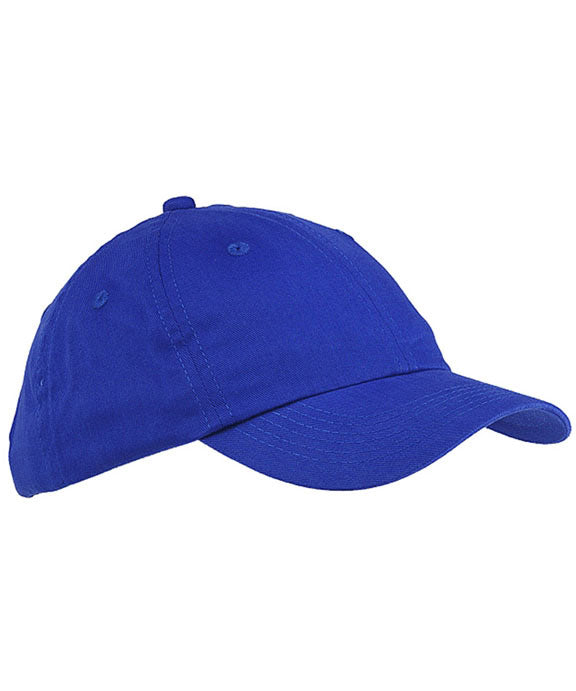 fb93be7d8375a BX001Y - Big Accessories Youth 6-Panel Brushed Twill Unstructured Cap