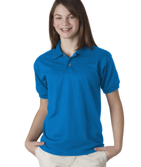 893435852 8800B Gildan DryBlend® Youth Jersey Polo Shirt