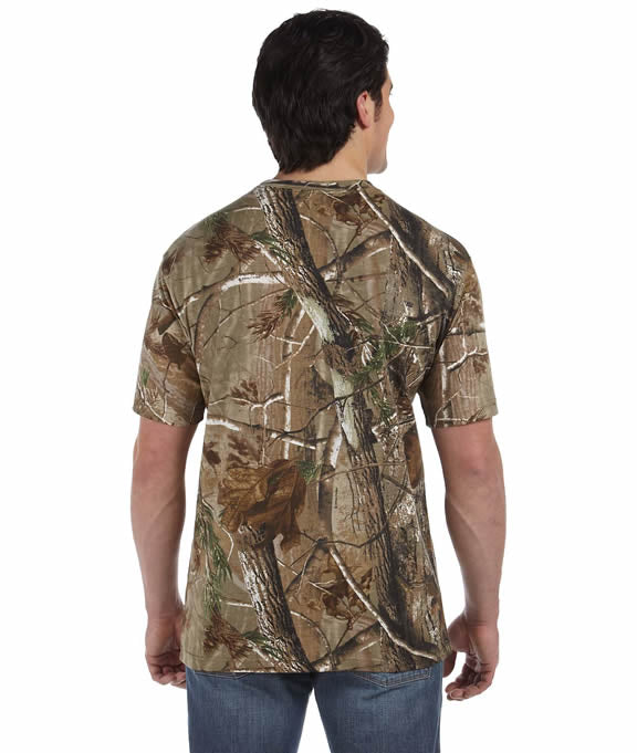 34068cf4 Wholesale Blank 3980 Code V Officially Licensed REALTREE Camouflage Short-Sleeve  T-Shirt — JonesTshirts