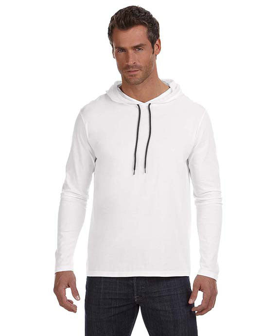 be8cb32a5ab5 Wholesale Blank 987AN Anvil Lightweight Long Sleeve Hooded T-Shirt ...
