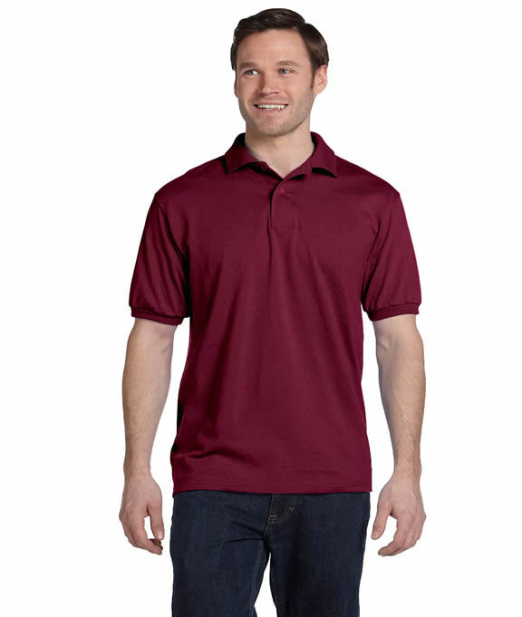 6a1d2aabe72 Wholesale Blank Polo 054X Stedman by Hanes Adult Blended Jersey Polo | Buy  in Bulk — JonesTshirts
