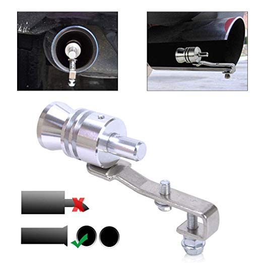Stainless Steel Car And Motorcycle Turbo Sound Simulator Whistle