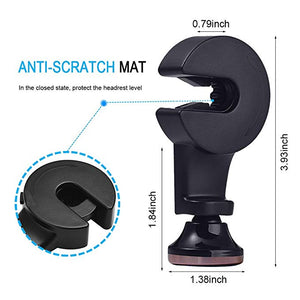 2-in-1 Backseat Headrest Magnet Phone Holder(2Pcs)