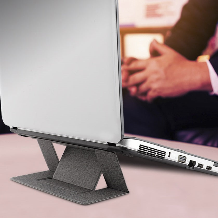 Portable and Foldable Laptop Stand with Dual-Angle Adjustment(Fiting All Laptop)