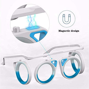 Physical Anti-Motion Sickness Glasses Cure Seasick Motion Foldable No Lens Glasses