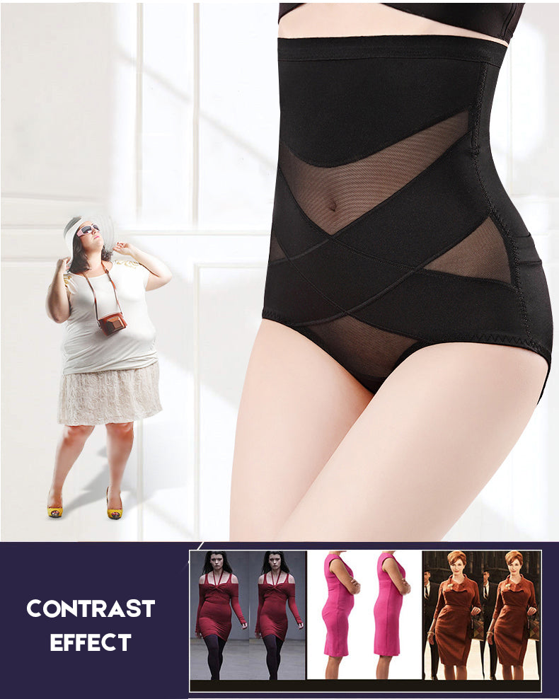 Women High Waist Tummy Control Shapewear Butt  Briefs