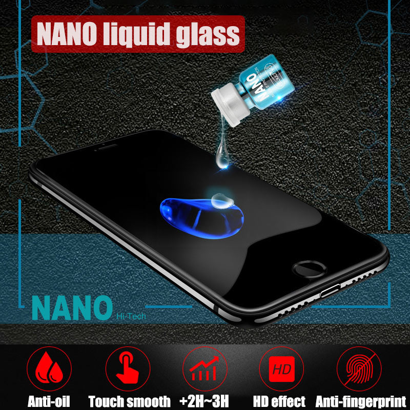 NANO Liquid Glass Screen Protector for Phone And Pad (1 Bottle=3pcs Traditional Screen Protector)