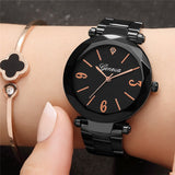 Fashion Ladies Watch Quartz Steel With Rose Gold Watch