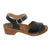 AINA Swedish Wood Clog Veg-Tan Leather Sandals