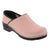Professional ELLA Pink Leather Clogs