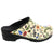 Dahlia Open Back Leather Clogs