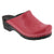 Elly Open Back Fuchsia Patent Leather Clogs