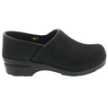 PRO LIAM Men's Oiled Leather Clogs
