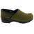 Professional LEAH Olive Oiled Leather Clogs