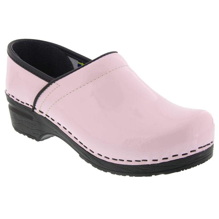 PROFESSIONAL ELSA Patent Leather Clogs