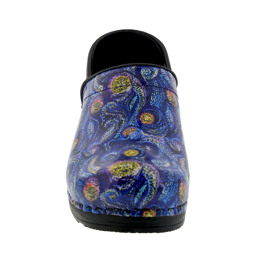PROFESSIONAL Starry Leather Clogs