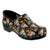 PROFESSIONAL Moa Skull Leather Clogs