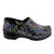 PROFESSIONAL HOPE Ribbons Leather Clogs