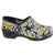 PROFESSIONAL Snow Leopard Leather Clogs