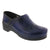 PROFESSIONAL Men's Navy Cabrio Leather Clogs