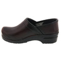 PROFESSIONAL Women's Bordeaux Cabrio Leather Clogs