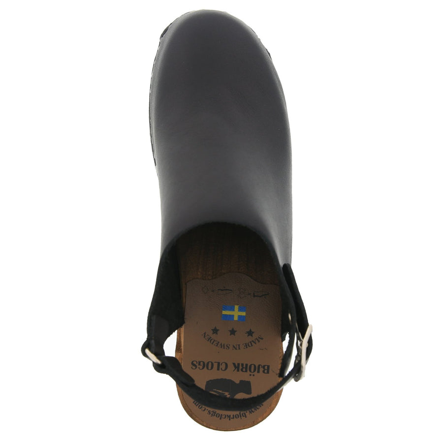 ARIA Swedish Wood Clog Sandals