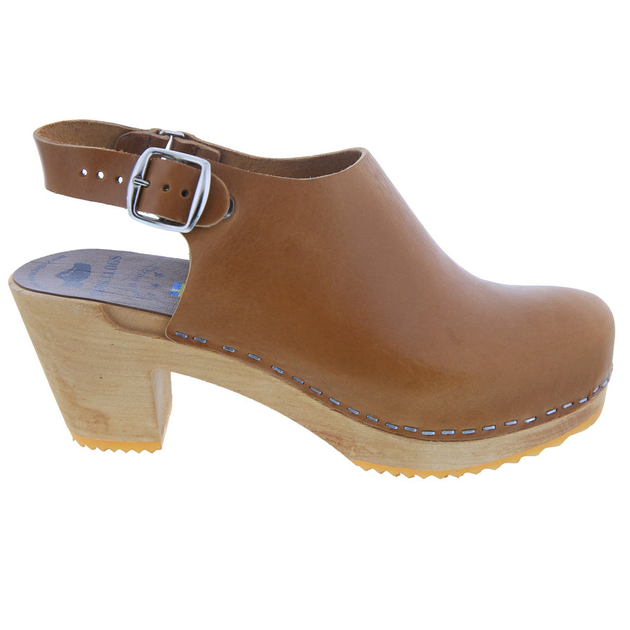 Aria Swedish Wood Clog Sandals Björk Swedish Comfort