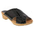 BJORK Shop BJORK EEVI Criss-Cross Wood Clog Sandals in Patent Leather
